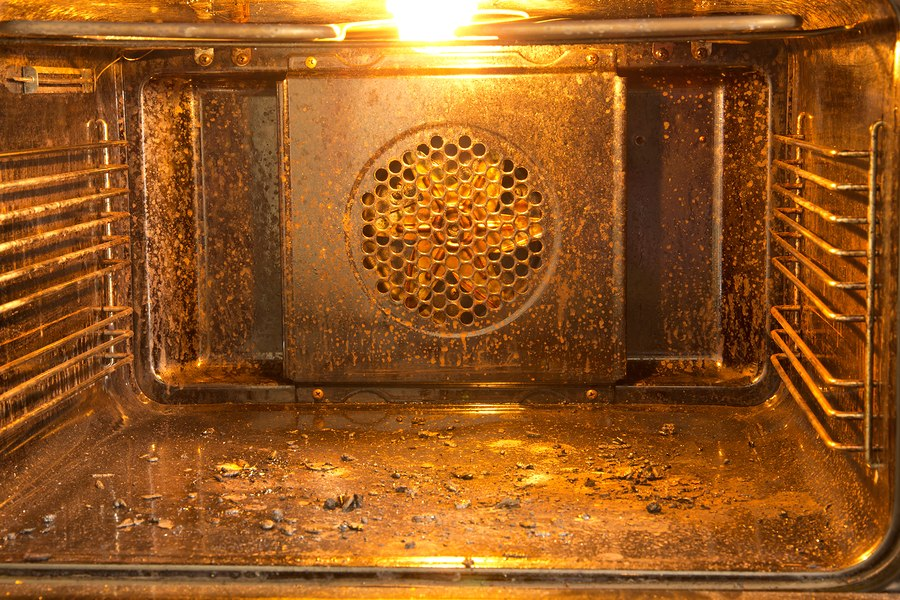 Dirty Oven in need of a clean